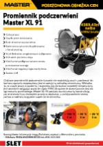 Promiennik podczerwieni Master XL91