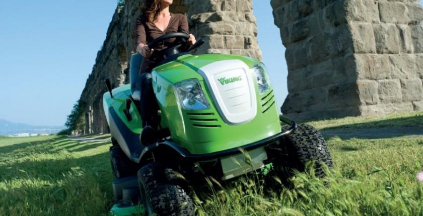 kosiarka samojezdna traktorek Viking